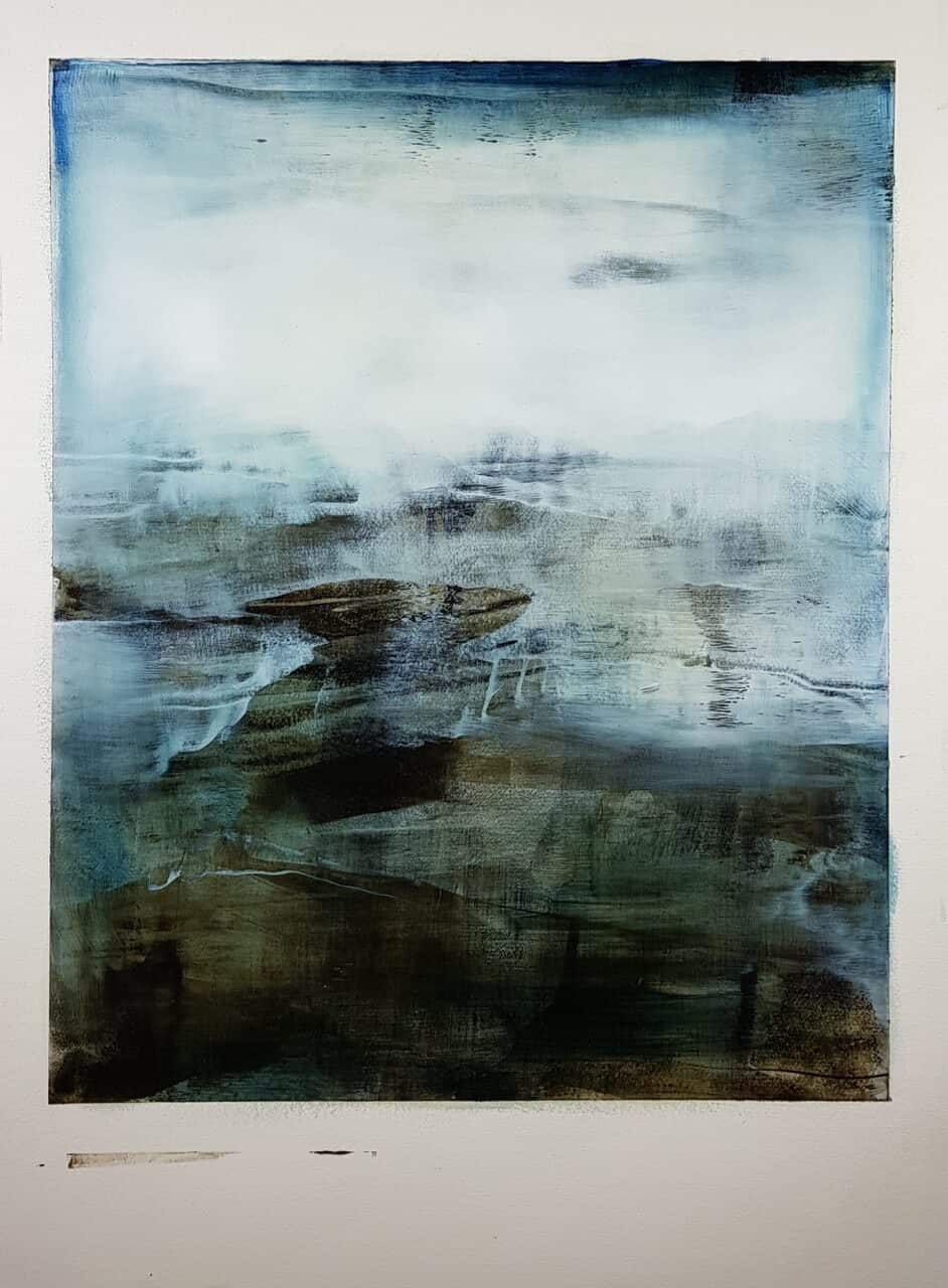 joachim van der vlught abstract landscape 4 at zebra one gallery