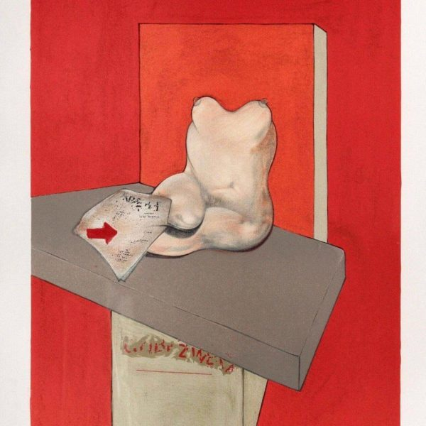 Francis Bacon After ingres at Zebra One Gallery