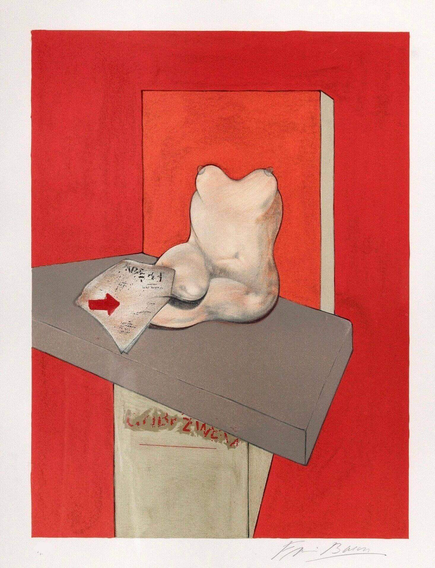 Francis Bacon at Zebra One Gallery