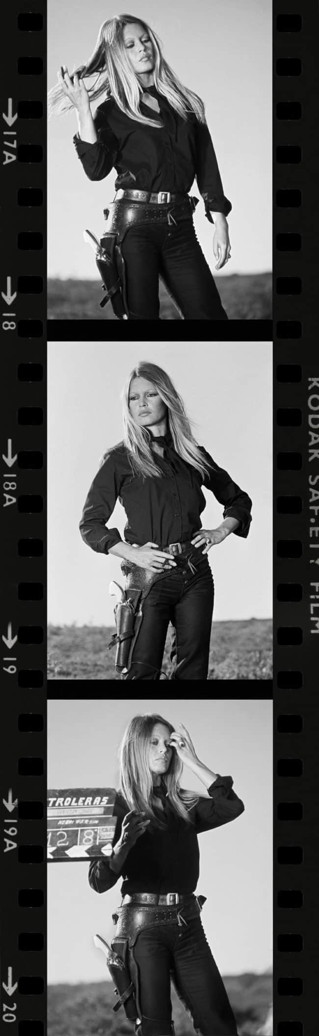 bridget bardot by terry O'Neill available at zebra one gallery