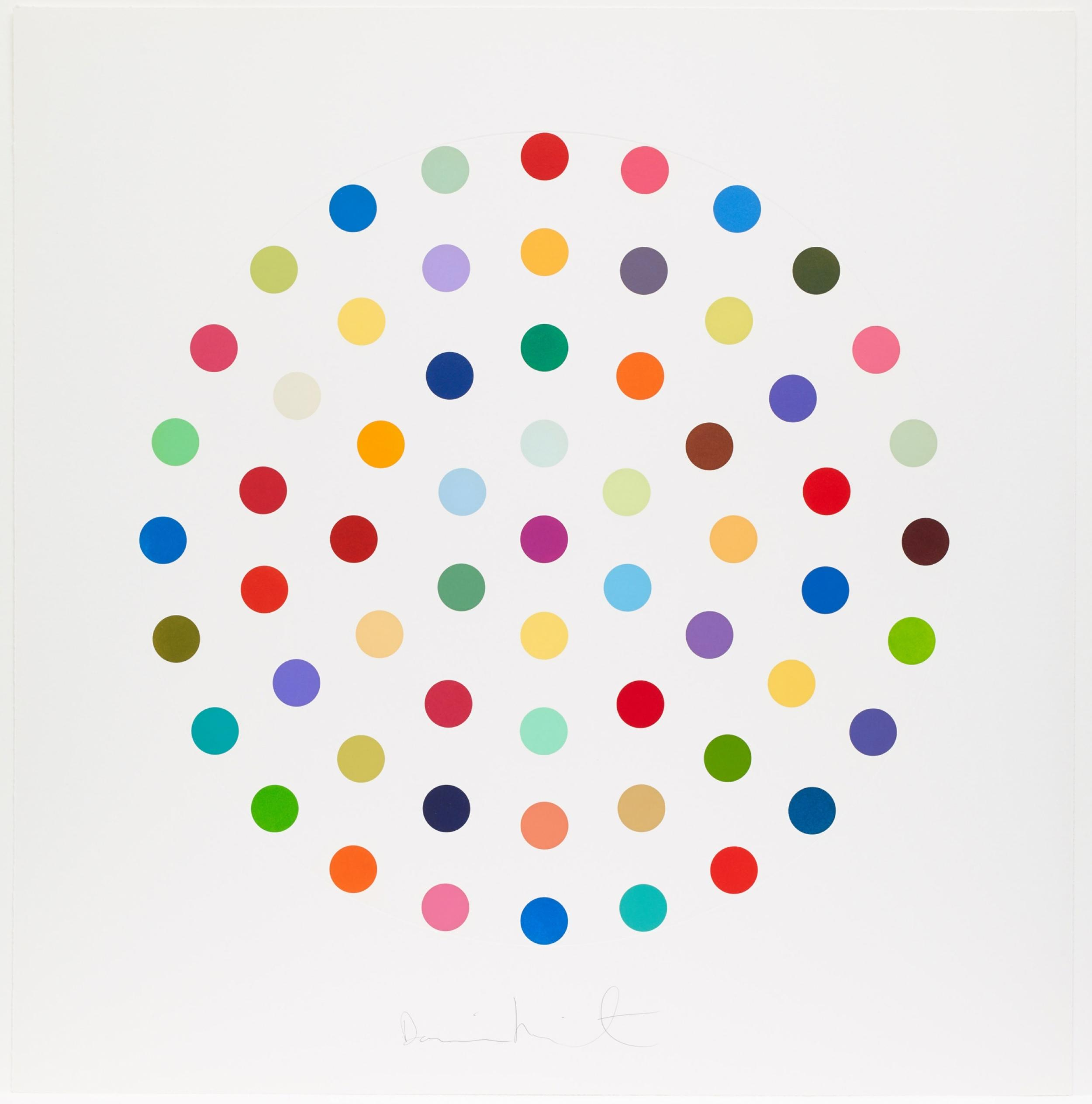 Damien Hirst - Cineole 2004 available at Zebra One Gallery