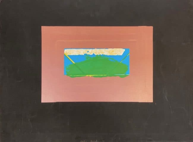Howard Hodgkins at Zebra One Gallery