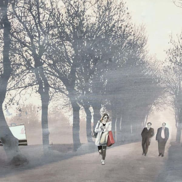 Peter Mcardle Untitled (Passing) avails at zebra one gallery