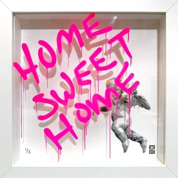David Schmidt aka DS home sweet home at zebra one gallery