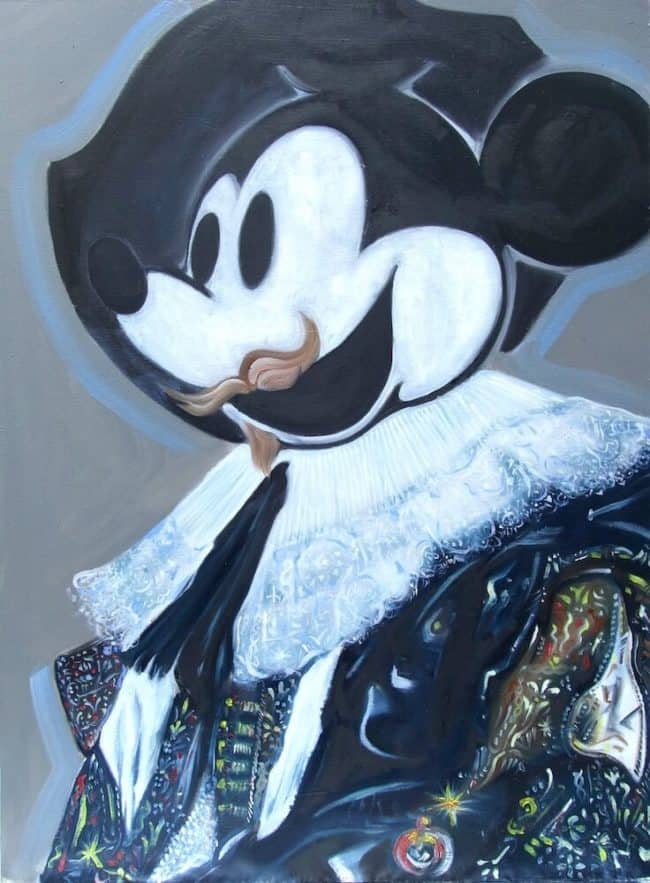 Kevin Gavaghan mouse masters at zebra one gallery