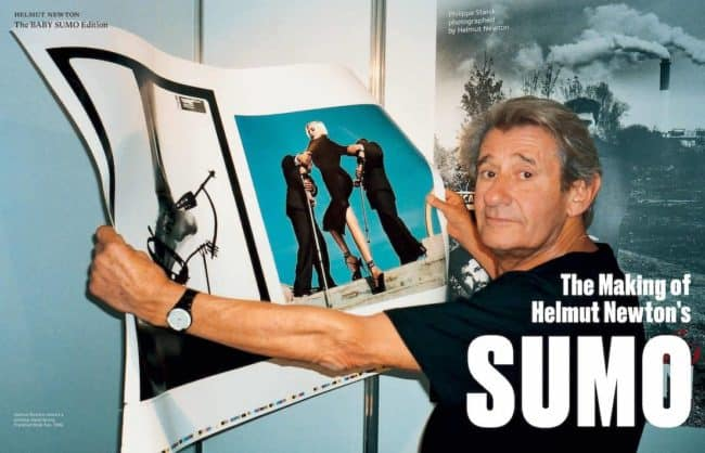 Helmut Newton Sumo at zebra one gallery thumbnail for book