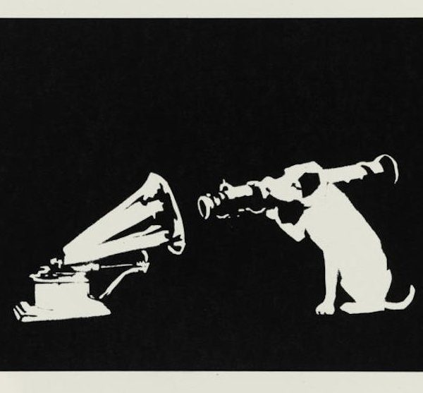 Banksy HMV Unsigned available at Zebra One Gallery