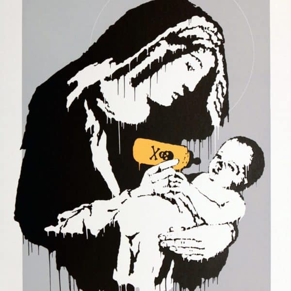 Banksy Toxic Mary Original at zebra one gallery