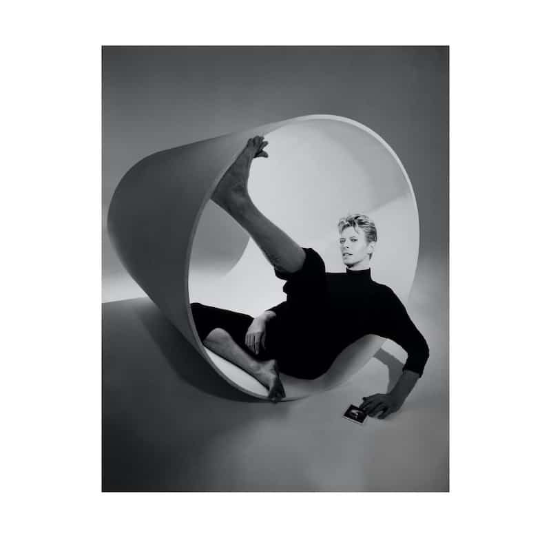 David Bowie in a Tube by Kate Garner available at Zebra one gallery