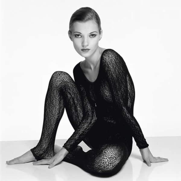 kate Moss by Terry O'Neill at Zebra One Gallery