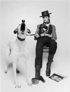 Terry O'Neil David Bowie Diamond Dogs at Zebra One Gallery