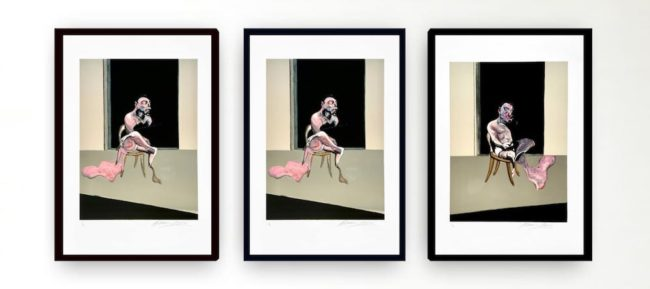 Francis Bacon Triptych August 1972 at Zebra One Gallery