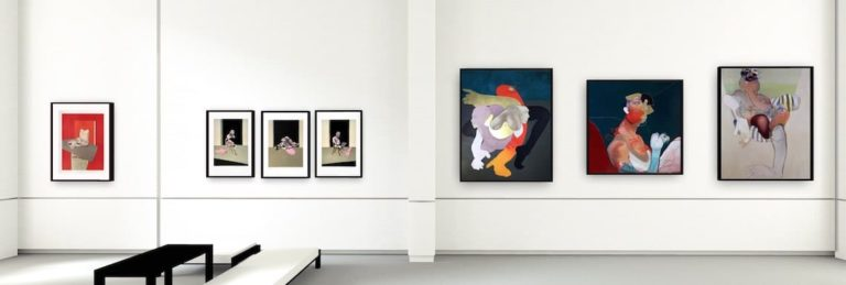 The Zebra One Gallery - 3D virtual exhibition banner