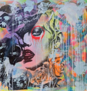 Dain Nyc Bonita Santa Fino 120 x 120cm at zebra one gallery