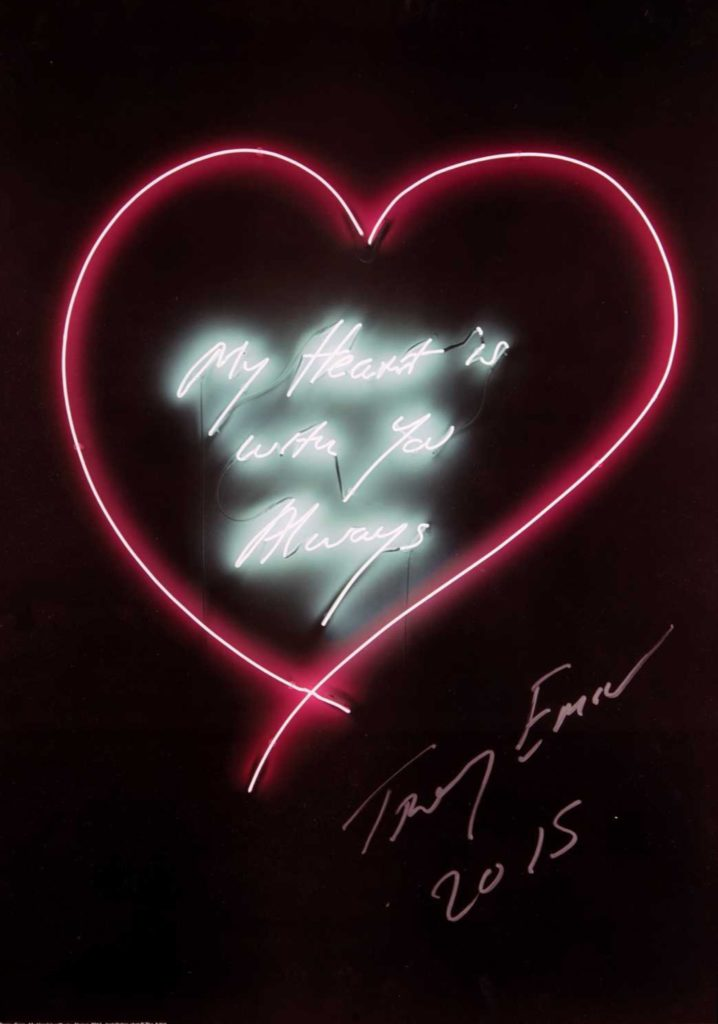 Tracey emin my heart is with you always