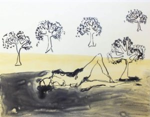 tracey emin at zebra one gallery