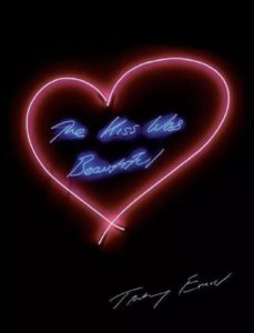 The Kiss Was Beautiful Emin at Zebra One Gallery sOLD